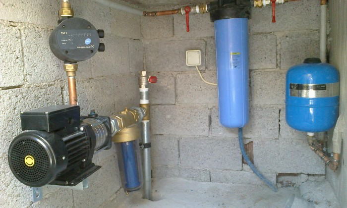 Υδραυλικες εγκαταστασεις