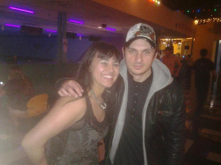 Athena meeting drum & bass legend, Andy C, future baby daddy, at SXSW