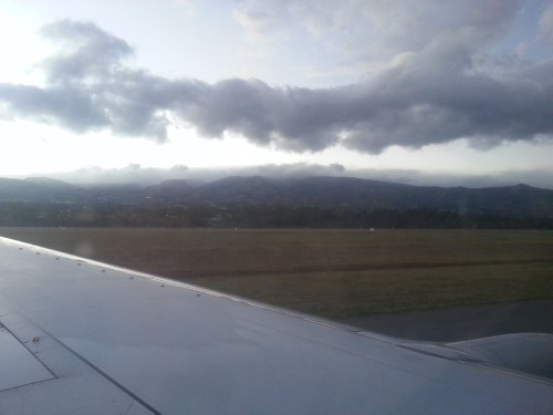 Landing at Mariscal Sucre International Airport