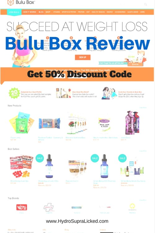 Bulu Box Review & 50% of Discount Code