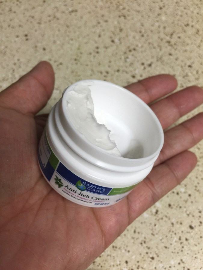 Anti-Itch Cream from Earth's Care