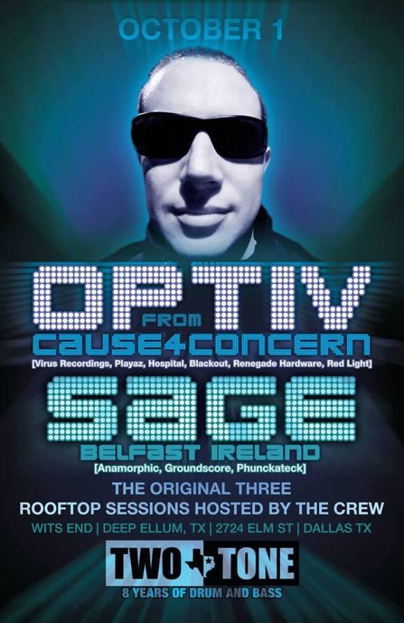Dallas EDM drum and bass Thursday night in Deep Ellum, Texas