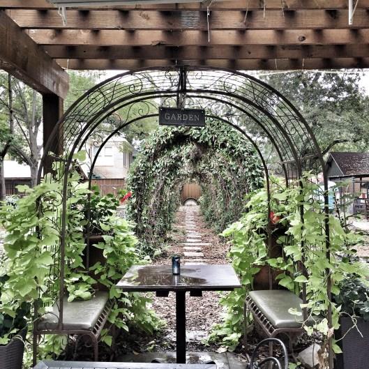 Garden Cafe garden patio