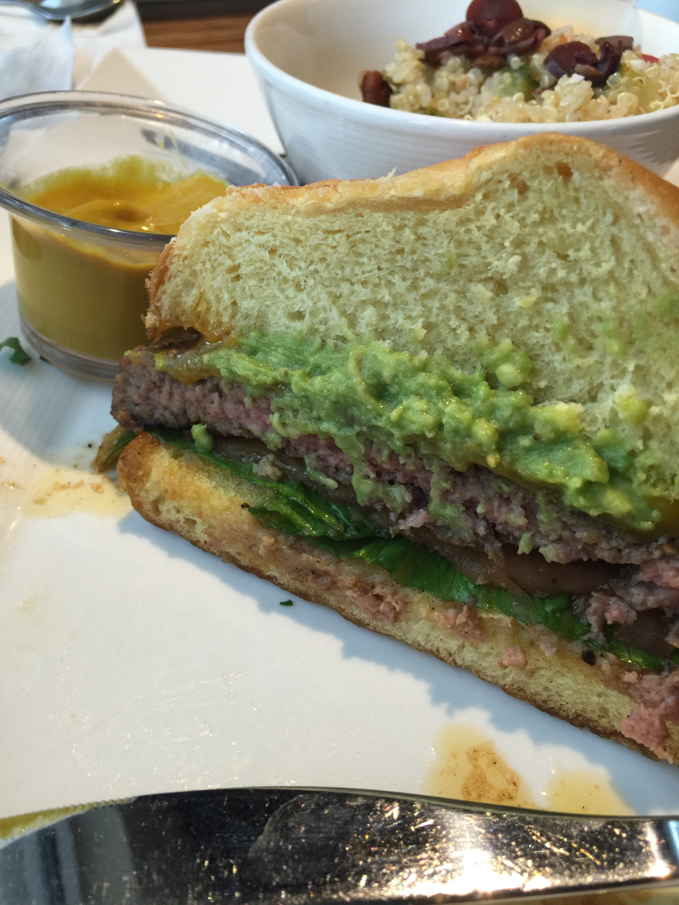Eat this entire burger and you will need to take a nap!