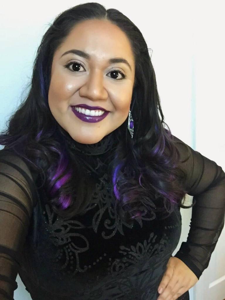 Ally Fiesta purple ombre