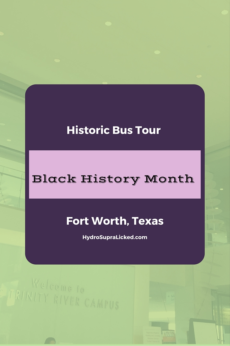 Historic Bus Tour Black History Month Fort Worth, Texas