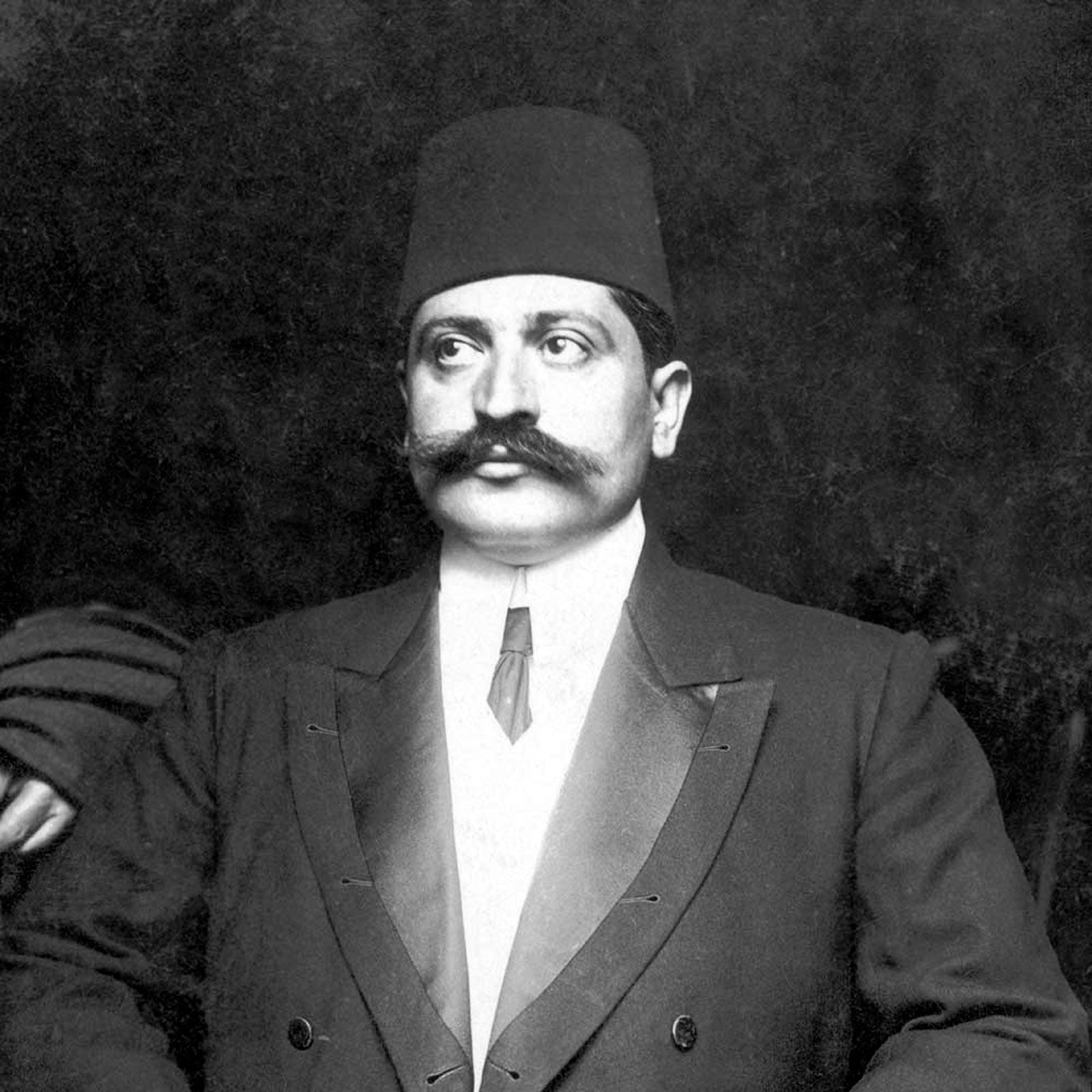 Talaat Pasha, the Ottoman minister of the interior during the Armenian genocide