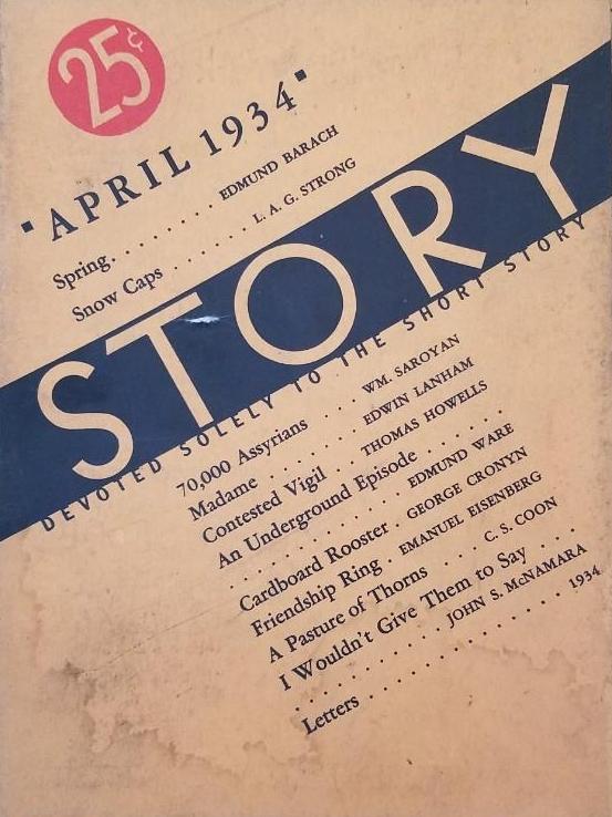 1-story-magazine-april-1934-saroyan-70000-assyrians