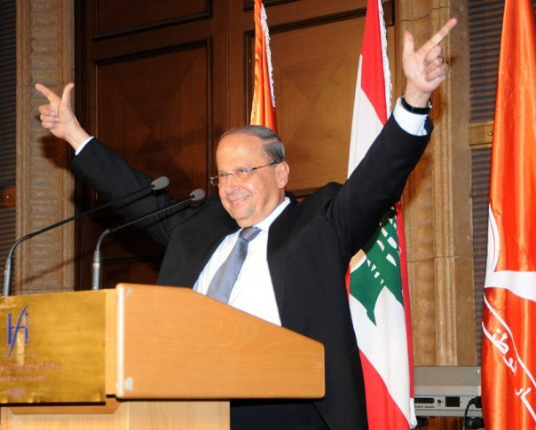 Michel-Aoun-before-being-elected-president-in-2016