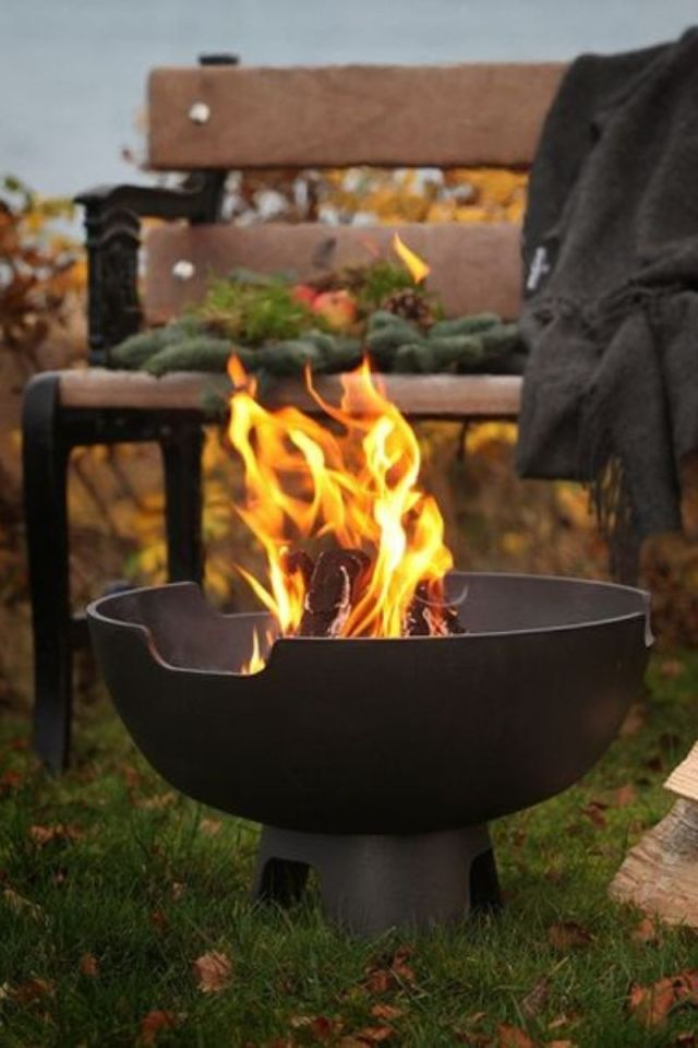 Danish fire pit