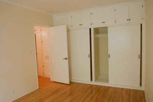 Bedroom. Loved the build in closets