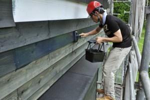 木の外壁塗装自分でチャレンジ_シンケンスタイル