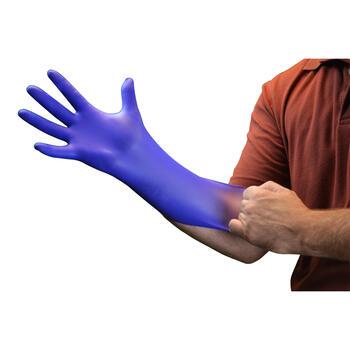 Indigo Nitrile Exam Gloves
