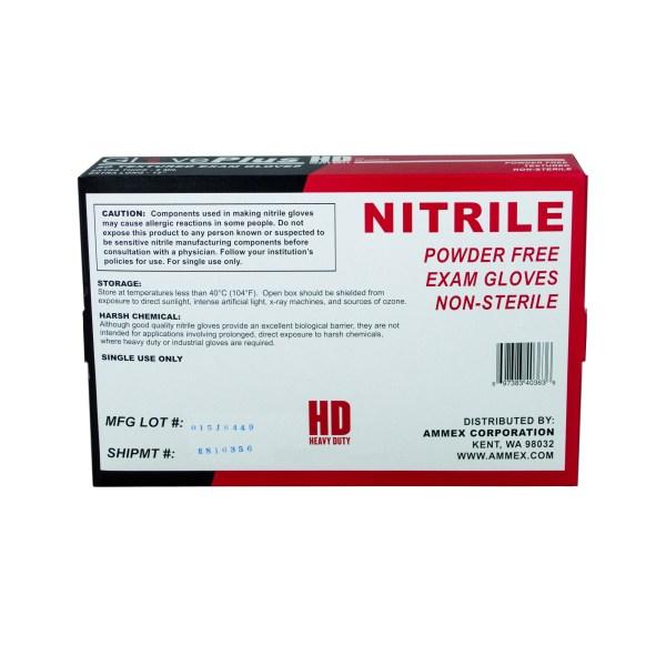 Blue HD Nitrile Exam Gloves