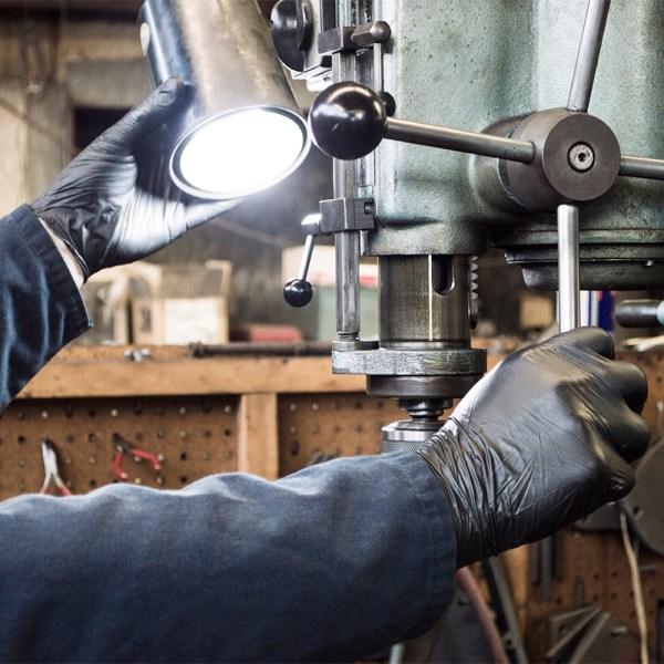 Black Nitrile Gloves for Automotive