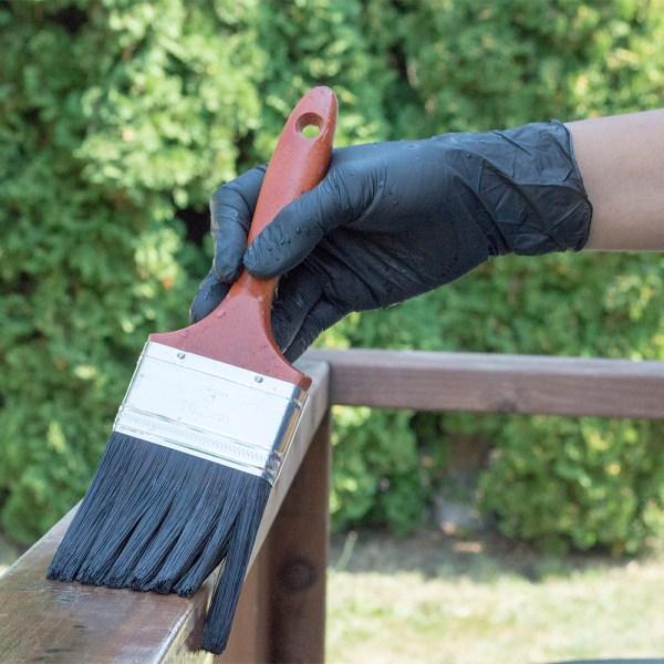 Black Nitrile Gloves for Painting