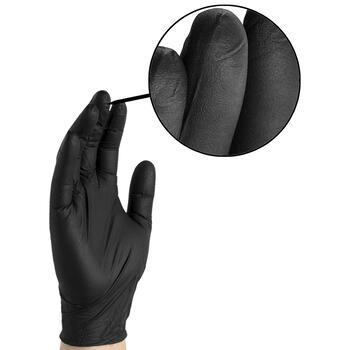 Gloveworks Black Nitrile Gloves
