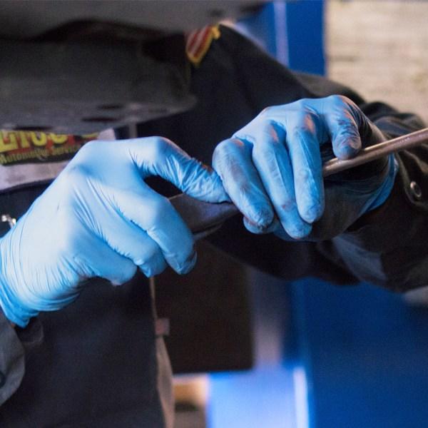 Industrial Nitrile Gloves