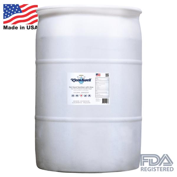 KleenSwell™ Gel Hand Sanitizer, 50-Gallon Drum