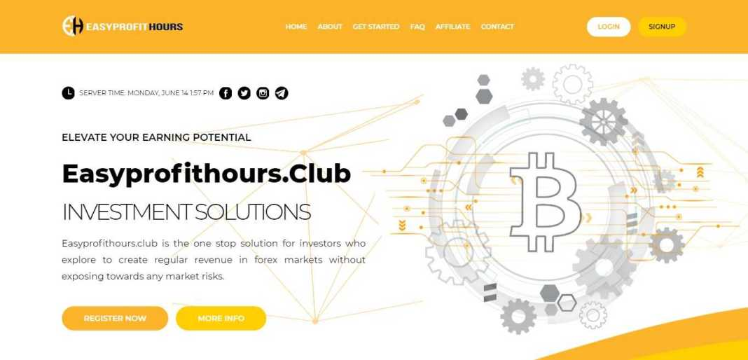 Easyprofithours Hyip Review : It Is Scam Or Paying? Read Our Review