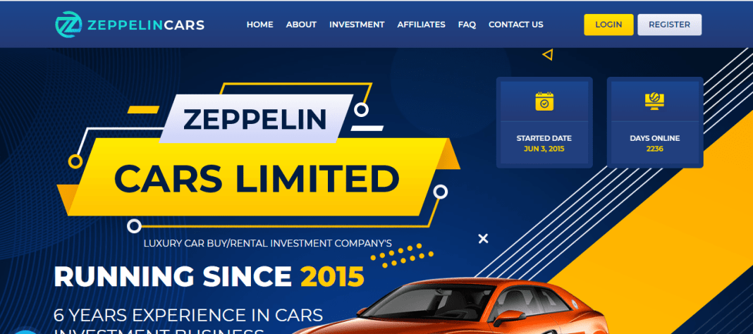 Zeppelincars.com Hyip Review : It Is Scam Or Paying? Read Our Review