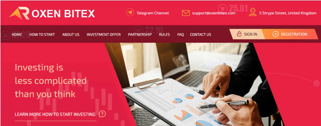 Oxenbitex Hyip Review : It Is Scam Or Paying? Read Our Review