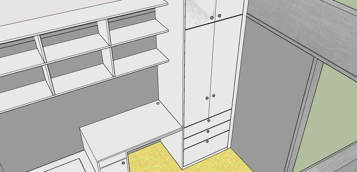 Design For Fitted Wardrobe