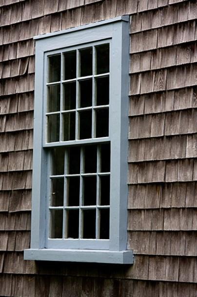 17th century windows - The John Alden House, Duxbury, Massachusetts (photo credit: ronaldc)