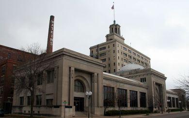 J. R. Watkins Medical Company Complex, 150 Liberty Street, Winona, Minnesota (U.S. Register of Historic Places) – photo by Jonathunder