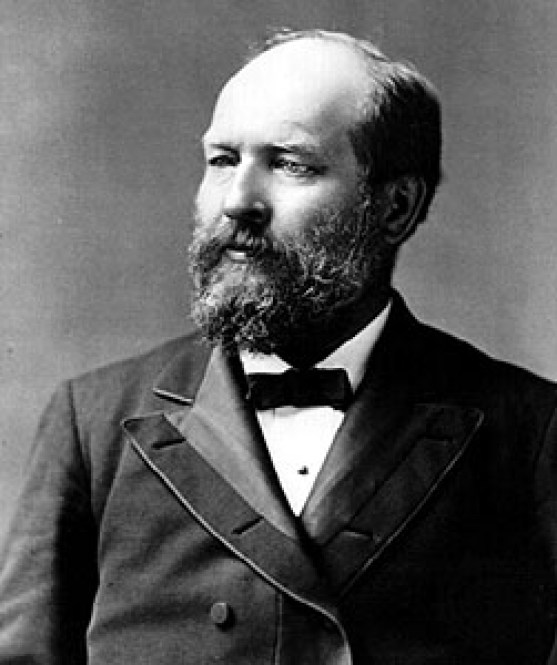 James A. Garfield, 20th President of the United States