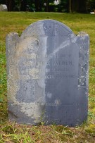 John Alden grave marker, Duxbury, Massachusetts (photo credit: ronaldc)