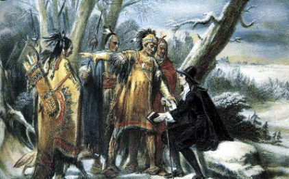 Roger Williams deals with the Narragansett Indians