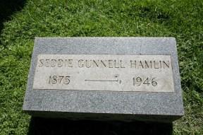 Seddie Gunnell (1875-1946), my paternal g-grandmother