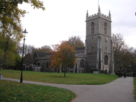 "Thomas married Margaret ""Margery"" Eaton on 15 Dec 1620 at Saint Dunstan's, Stepney, Middlesex, England.  Thomas was 27 years old, and Margery was only 16 at the time of her marriage."