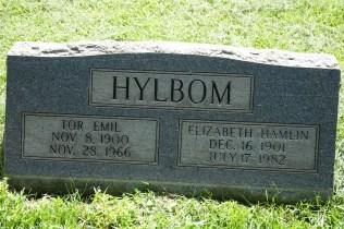 Tor Emil Hylbom (1900-1966), and Elizabeth Gunnell Hamlin (1901-1982), my paternal grandparents