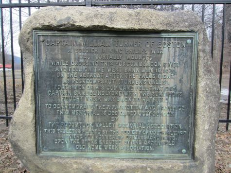 Edward's son, Timothy, is listed as one of the 150 or so combatants in a battle known as the Battle of Turners Falls (sometimes called the Turners Falls Massacre) that took place on the morning of 19 May 1676.  A monument in Gill, Massachusetts marks the spot where Capt. Turner was slain. The site of the battle is in the Riverside Archeological District, a historic district listed on the National Register of Historic Places.