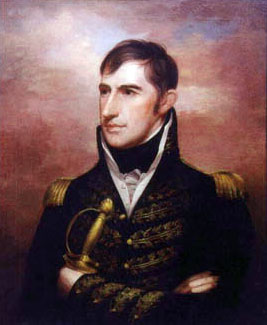 General William Henry Harrison (portrait by Rembrandt Peale)