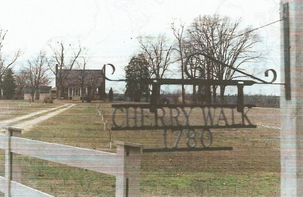 The site of the plantation purchased by John Ferguson, Sr. in 1680. The home was built by John Croxton, son-in-law of James1 Ferguson in 1780.