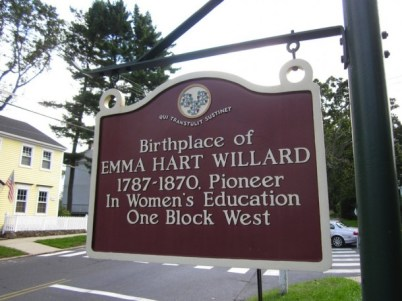 Historical marker in Berlin, Connecticut