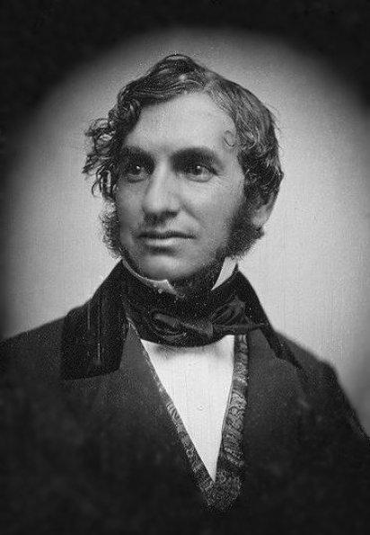 Longfellow circa 1850, daguerreotype by Southworth & Hawes
