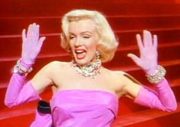 "Performing ""Diamonds Are a Girl's Best Friend"" in Gentlemen Prefer Blondes (1953)"
