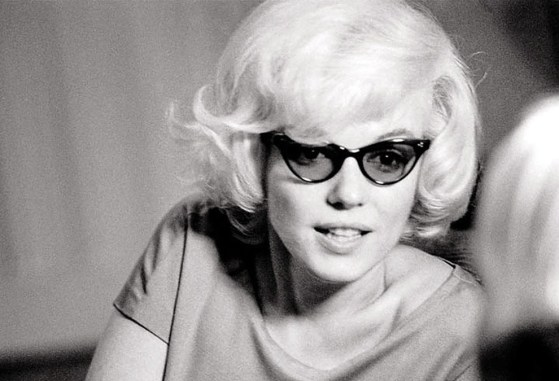 Actress Marilyn Monroe, as captured by photographer Len Steckler in December of 1961.