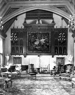 South end of great hall