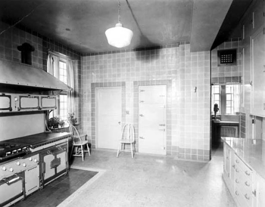 Kitchen looking southwest