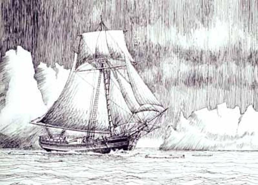 """The sloop """"Hero"""""""