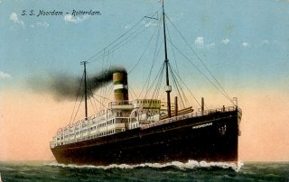 S.S. Noordam, also known as the S.S. Kungsholm