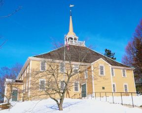 Old Ship Church, Hingham, Massachusetts (exterior)