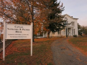 The Capt. Nathaniel B. Palmer House in Stonington was declared a National Historic Landmark in 1996.