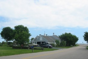 The current house (the third one on this site) on the location of the original Minor farm.