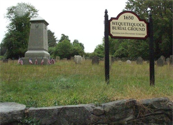 Wequeteduock Burial Ground, Stonington, Connecticut
